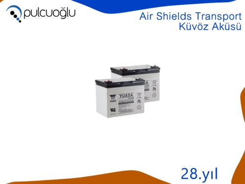 AIR SHIELDS TRANSPORT KÜVÖZ AKÜSÜ
