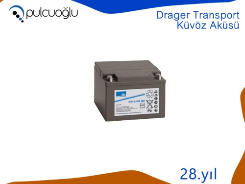 DRAGER TRANSPORT KÜVÖZ AKÜSÜ