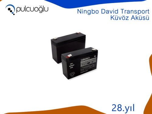 NINGBO DAVID TRANSPORT KÜVÖZ AKÜSÜ
