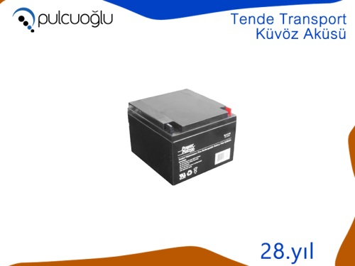 TENDE TRANSPORT KÜVÖZ AKÜSÜ